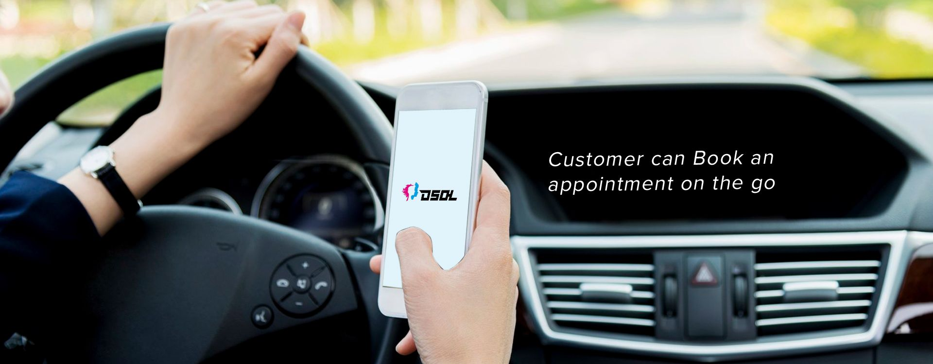 Customer can Book an appointment on the go | easy salon sofware