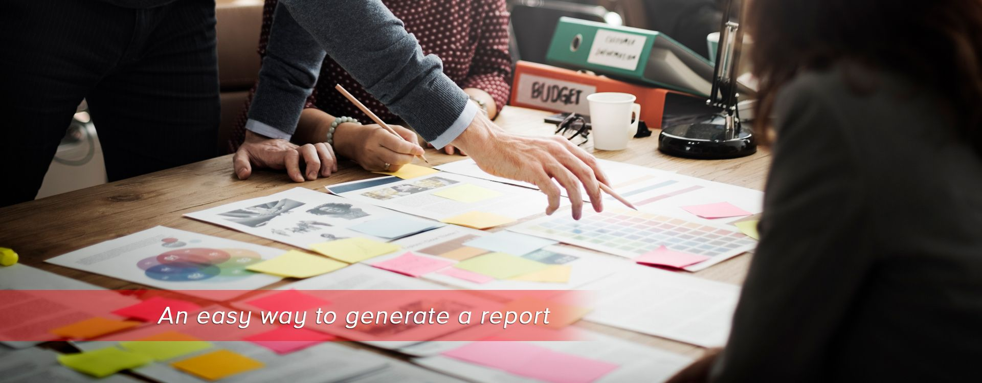 An easy way to generate a report | easy salon sofware